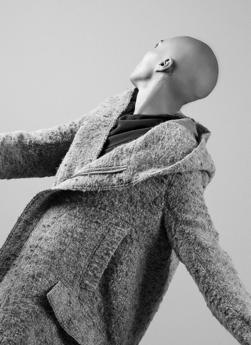 FW19 20 editorial Rick Owens shot by Philipp Altheimer Marcia for hide m 13