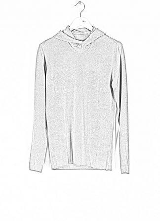 LABEL UNDER CONSTRUCTION men Punched Balaclava Sweater herren pulli kapuzenpulli 34YMSW222 WS16 RG 345 cashmere medium grey hide m 1
