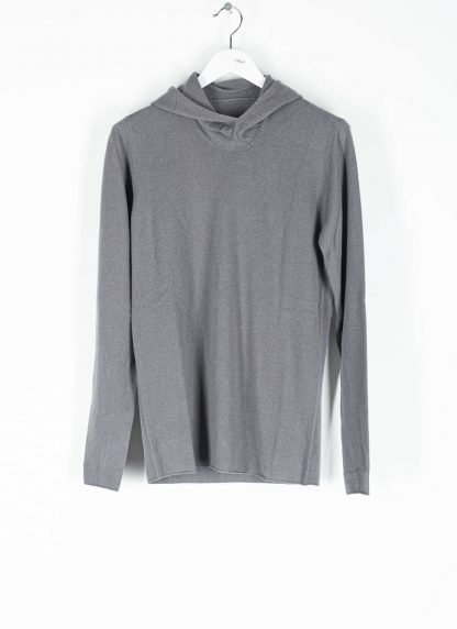 LABEL UNDER CONSTRUCTION men Punched Balaclava Sweater herren pulli kapuzenpulli 34YMSW222 WS16 RG 345 cashmere medium grey hide m 2