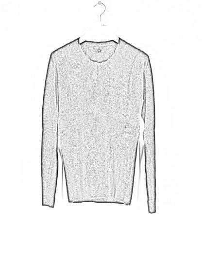 LABEL UNDER CONSTRUCTION men Raglan Sweater herren pulli 34YXSW236 WS90 RG 349 cashmere silk black hide m 1