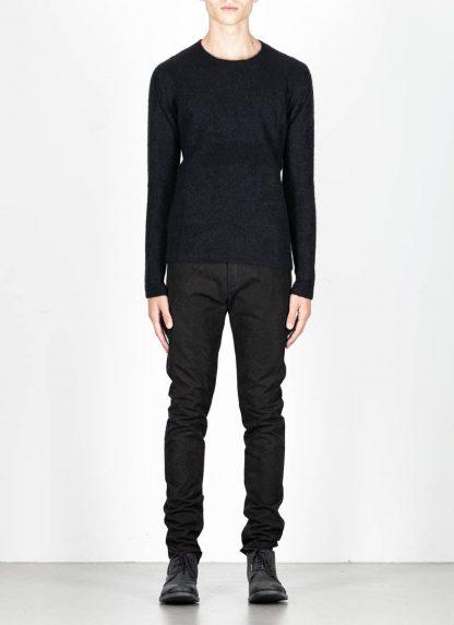 LABEL UNDER CONSTRUCTION men Raglan Sweater herren pulli 34YXSW236 WS90 RG 349 cashmere silk black hide m 3