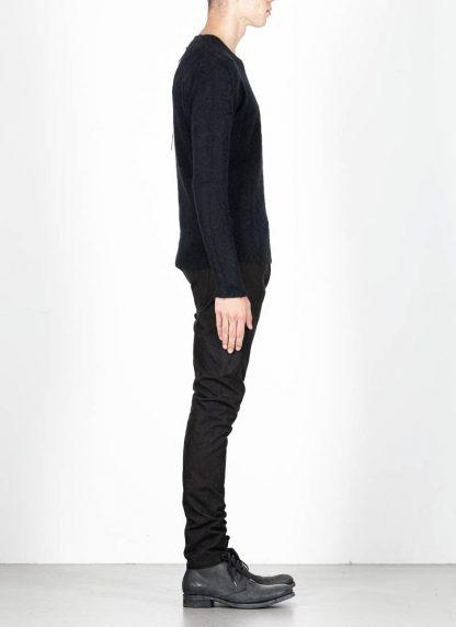 LABEL UNDER CONSTRUCTION men Raglan Sweater herren pulli 34YXSW236 WS90 RG 349 cashmere silk black hide m 4