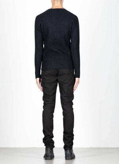 LABEL UNDER CONSTRUCTION men Raglan Sweater herren pulli 34YXSW236 WS90 RG 349 cashmere silk black hide m 5