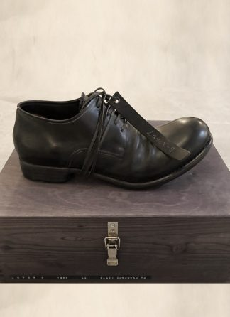 LAYER 0 limited hand made goodyear shoe derby 2.5 h7 black cordovan full grain hide m 2