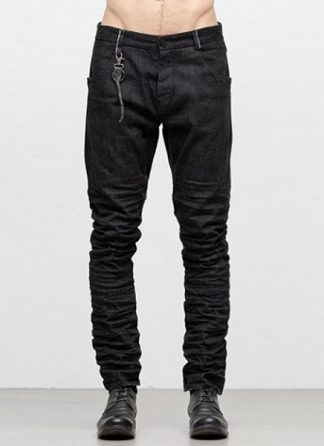LAYER 0 men 5pocket pants jeans hose 22 10 cotton denim black hide m 2
