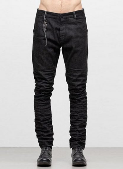 LAYER 0 men 5pocket pants jeans hose 22 10 cotton denim black hide m 2