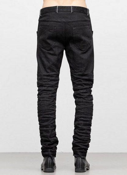 LAYER 0 men 5pocket pants jeans hose 22 10 cotton denim black hide m 4