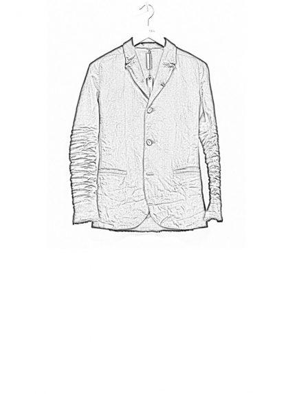 LAYER 0 men H blazer jacket jacke 22 09 ramie black hide m 1