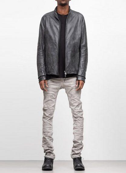 LAYER 0 men H jacket horse leather black hide m 2