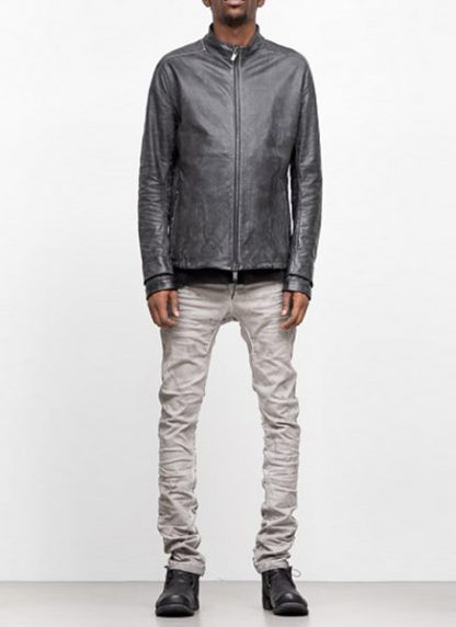 LAYER 0 men H jacket horse leather black hide m 3