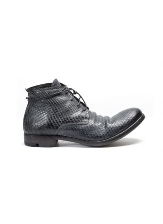 LAYER 0 men ankle boot 18 08 black python FW17 hide m 2