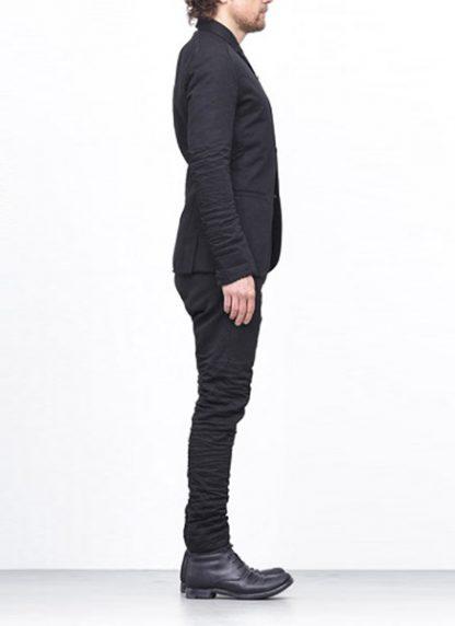 LAYER 0 men classic H blazer jacket 20 07 black cotton hide m 4