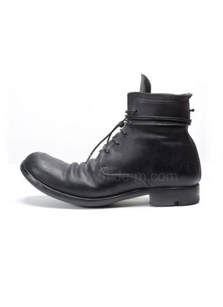 LAYER 0 men lace up boot 2 0 H14 goodyear black black shell cordovan rev hide m 2