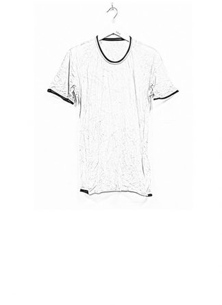 LAYER 0 men tshirt tee 22 07 cotton linen dirty white hide m 1