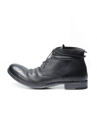 LAYER 0 women 4 HOLE ANKLE BOOT 18 08 1 5 H10 GOODYEAR CORDOVAN FULL GRAIN BLACK HIDE M 2