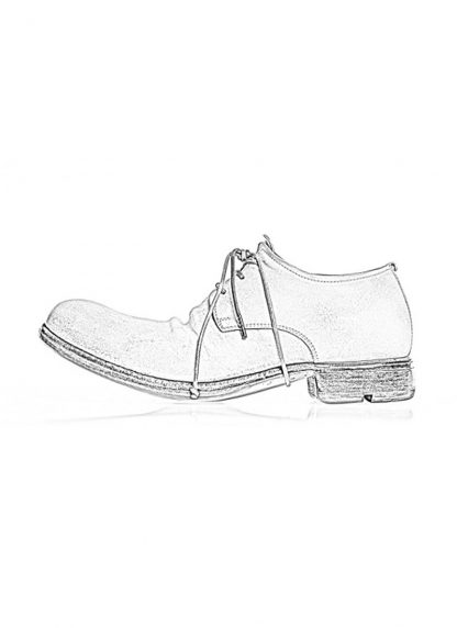 LAYER 0 women derby shoe goodyear 21 09 horse cordovan full grain leather dirty white hide m 1