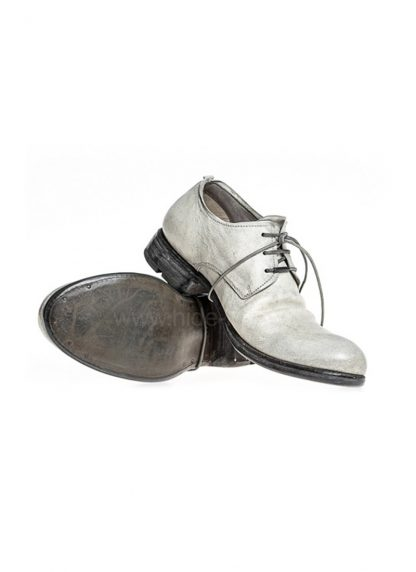 LAYER 0 women derby shoe goodyear 21 09 horse cordovan full grain leather dirty white hide m 3