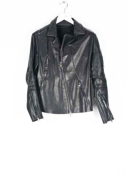 LEON EMANUEL BLANCK men distortion biker jacket herren jacke DIS BJ 01 horse leather black hide m 2