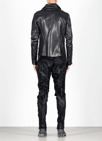 LEON EMANUEL BLANCK men distortion biker jacket herren jacke DIS BJ 01 horse leather black hide m 6