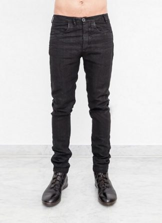 Label Under Construction ONE CUT PANTS LINEN BLACK 27FMPN74 hide m 2