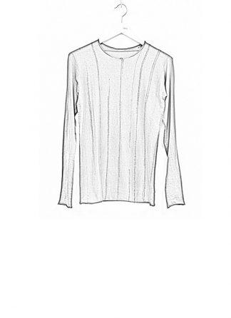 Label Under Construction SS19 men digital knit sweater cotton wool grey hide m 1