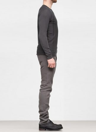 Label Under Construction SS19 men digital knit sweater cotton wool grey hide m 3