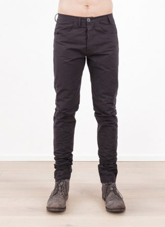 Label Under Construction men ONE CUT PANTS COTTON BLACK hide m 2