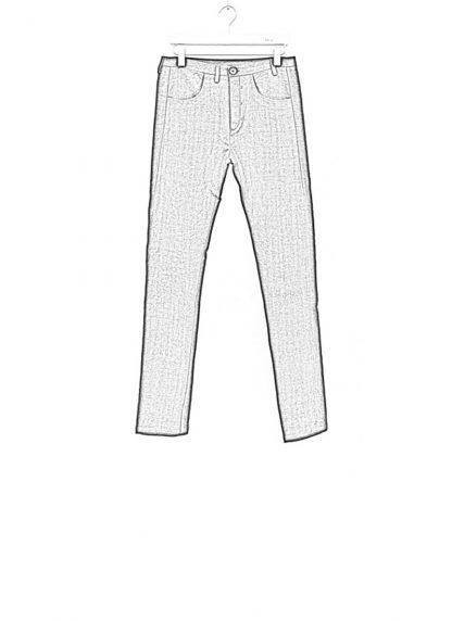 Label Under Construction one cut pants black linen ss17 hide m 1