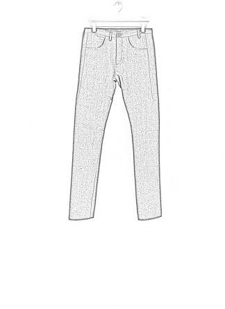 Label Under Construction one cut pants grey linen ss17 hide m 1