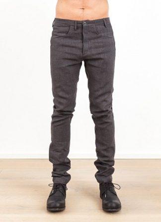 Label Under Construction one cut pants grey linen ss17 hide m 2