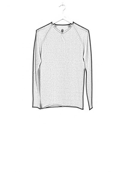 Label Under Construction zip seam seismograph sweater black cotton linen ss17 hide m 1