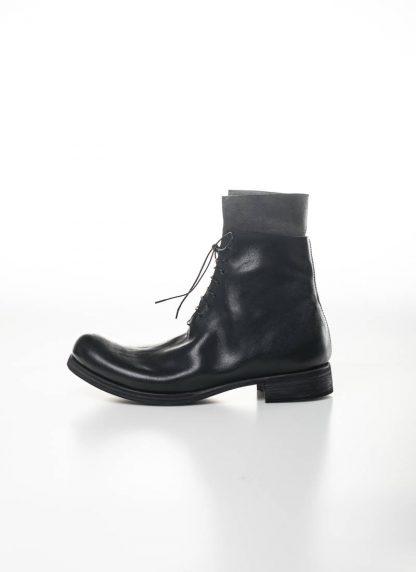M.A Maurizio Amadei Men Staple Short Lace Up Boot Herren Stiefel S1B23 CU horse leather black hide m 2