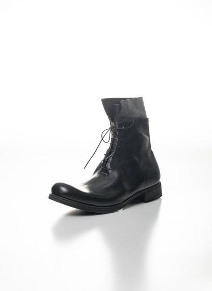 M.A Maurizio Amadei Men Staple Short Lace Up Boot Herren Stiefel S1B23 CU horse leather black hide m 3