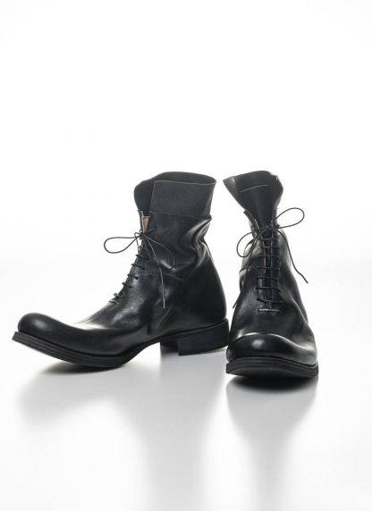 M.A Maurizio Amadei Men Staple Short Lace Up Boot Herren Stiefel S1B23 CU horse leather black hide m 4