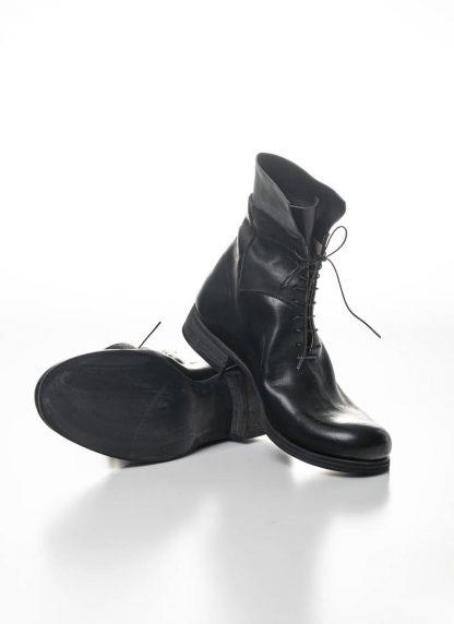M.A Maurizio Amadei Men Staple Short Lace Up Boot Herren Stiefel S1B23 CU horse leather black hide m 5