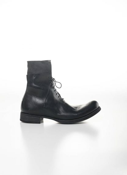 M.A Maurizio Amadei Men Staple Short Lace Up Boot Herren Stiefel S1B23 CU horse leather black hide m 6