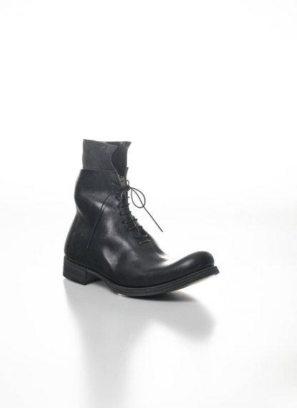 M.A Maurizio Amadei Men Staple Short Lace Up Boot Herren Stiefel S1B23 CU horse leather black hide m 7