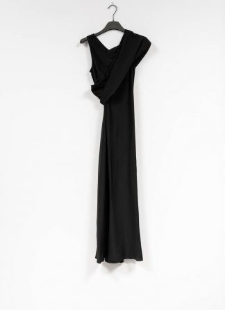RICK OWENS larry banana tank dress damen kleid acetate silk black hide m 2