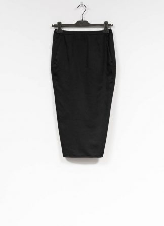 RICK OWENS larry women skirt soft pillar short damen rock new wool black hide m 2