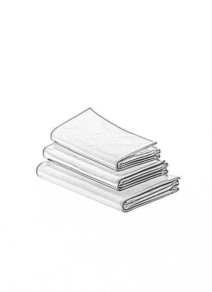 m.a maurizio amadei origami wallet W7 W8 W9 geldboerse portemonnaie vachetta cow leather VA 1.0 black hide m 1