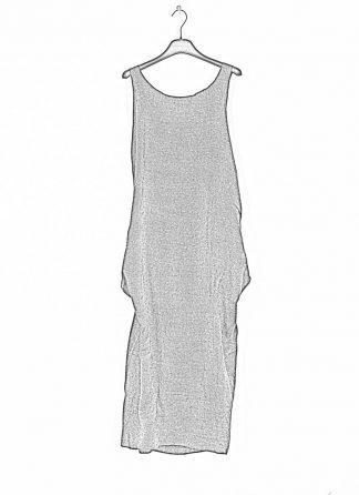 CHEREVICHKIOTVICHKI women adjustable back dress damen kleid 106AW19 linen wool mud stripe hide m 1