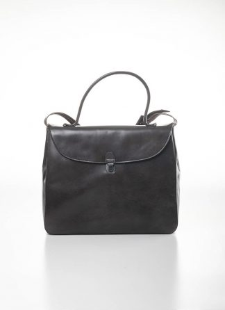 CHEREVICHKIOTVICHKI women medium lock bag damen tasche 47AW19 waxed calf leather dark oyster hide m 2