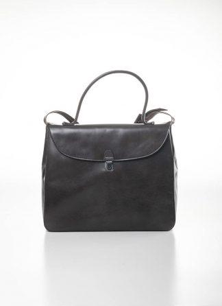 CHEREVICHKIOTVICHKI women medium lock bag damen tasche 47AW19 waxed calf leather dark oyster hide m 2