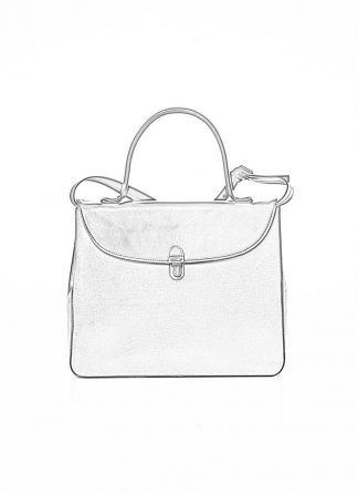 CHEREVICHKIOTVICHKI women medium lock bag damen tasche 47AW19 waxed calf leather red hide m 1