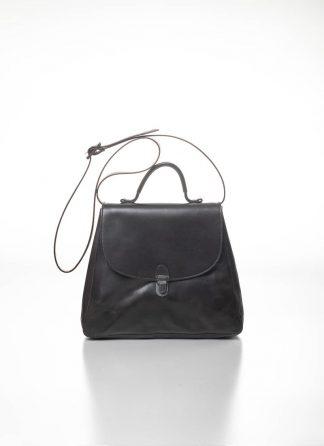 CHEREVICHKIOTVICHKI women small lock bag damen tasche 52SS19 B calf nubuck leather aubergine brown hide m 2