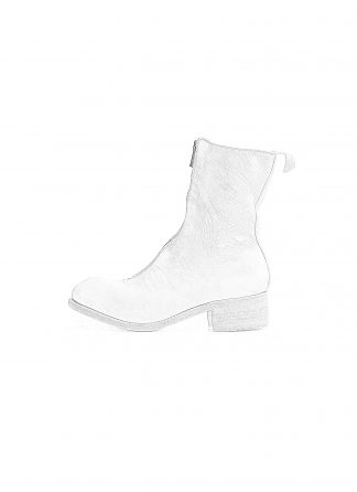 GUIDI PL2 women front zip boot damen stiefel soft horse full grain leather CO00T white hide m 1