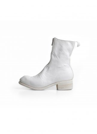 GUIDI PL2 women front zip boot damen stiefel soft horse full grain leather CO00T white hide m 2
