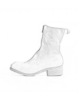 GUIDI PL2 women front zip boot shoe damen stiefel schuh soft horse full grain leather CO00T white hide m 1