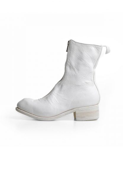 GUIDI PL2 women front zip boot shoe damen stiefel schuh soft horse full grain leather CO00T white hide m 2