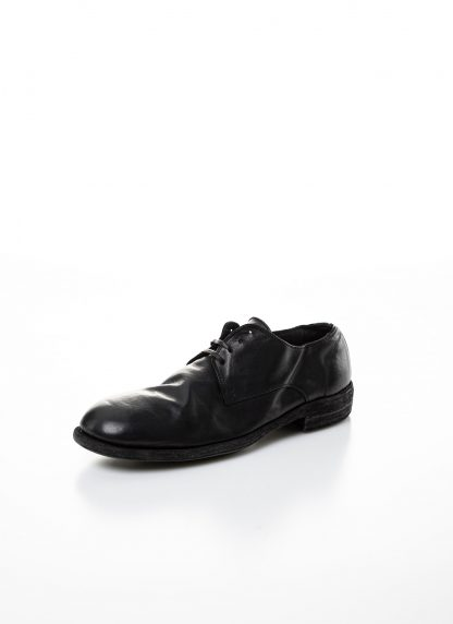 GUIDI men classic derby shoe 992 herren schuh goodyear horse full grain leather black hide m 4